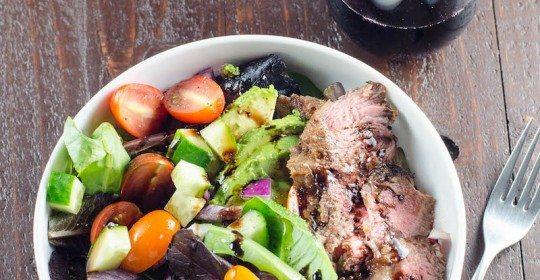 Grilled-Skirt-Steak-Salad-and-Beaujolais-Umami-Girl-2