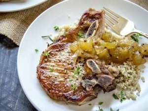 Herb-Marinated-Pork-Chops-with-Apple-Chutney-7