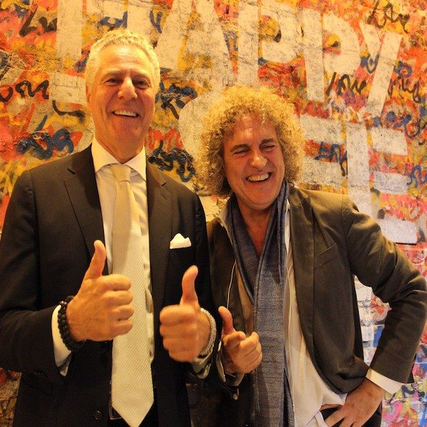 Owners of Serafina: Vittorio Assaf, left, and Fabio Granato, right.