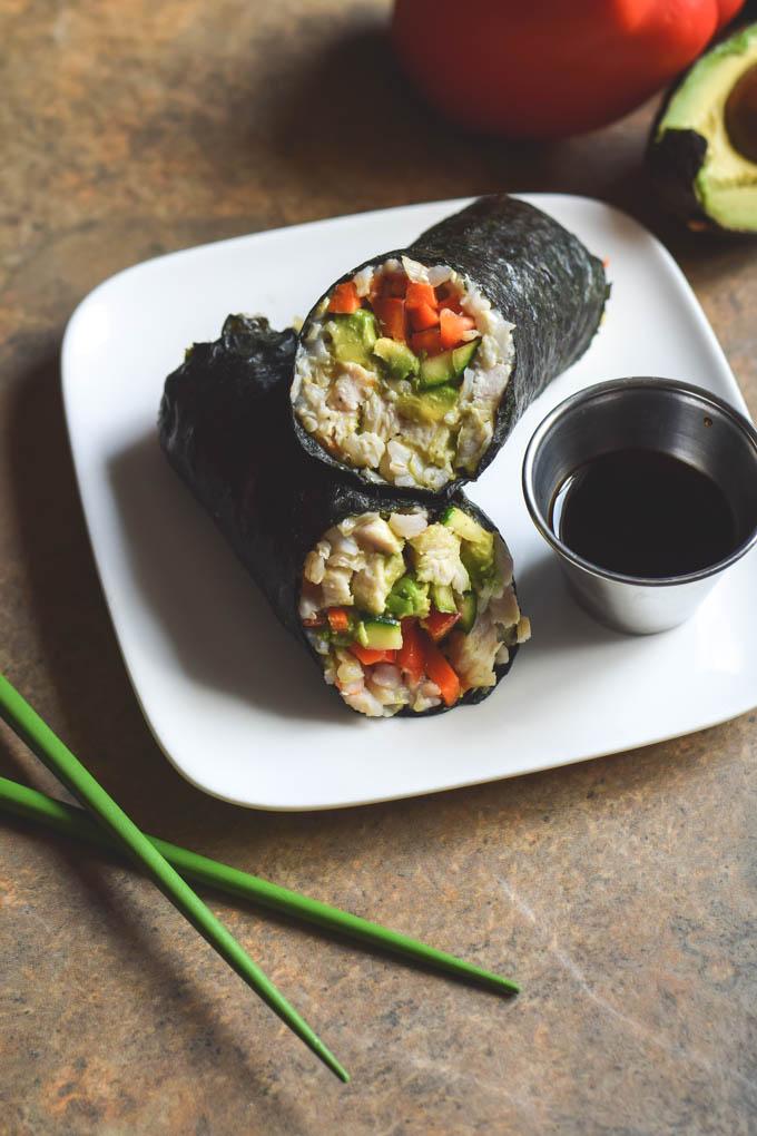Brown Rice Sushi Wraps