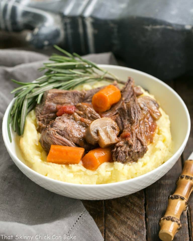 Mushroom and Red Wine Pot Roast