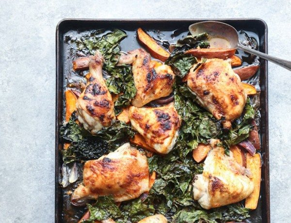 Red-Curry-Sheet-Pan-Chicken-Recipe-with-Sweet-Potatoes-and-Crispy-Kale-6