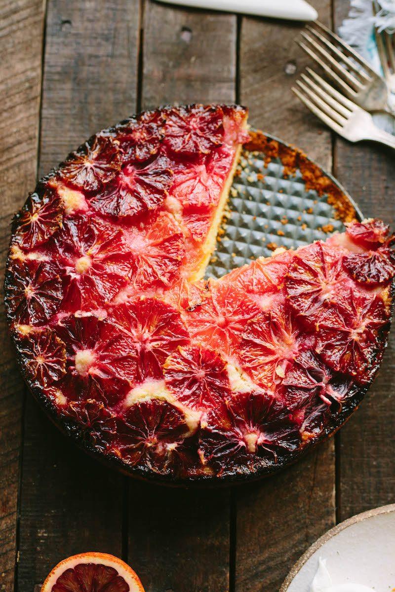 Blood Orange Almond Cake