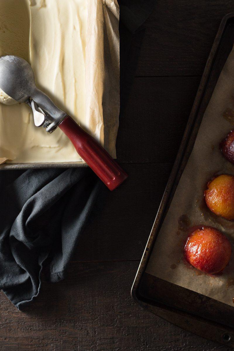 cardamom-honey-ice-cream,-pistachio-granola,-roasted-plums,-5