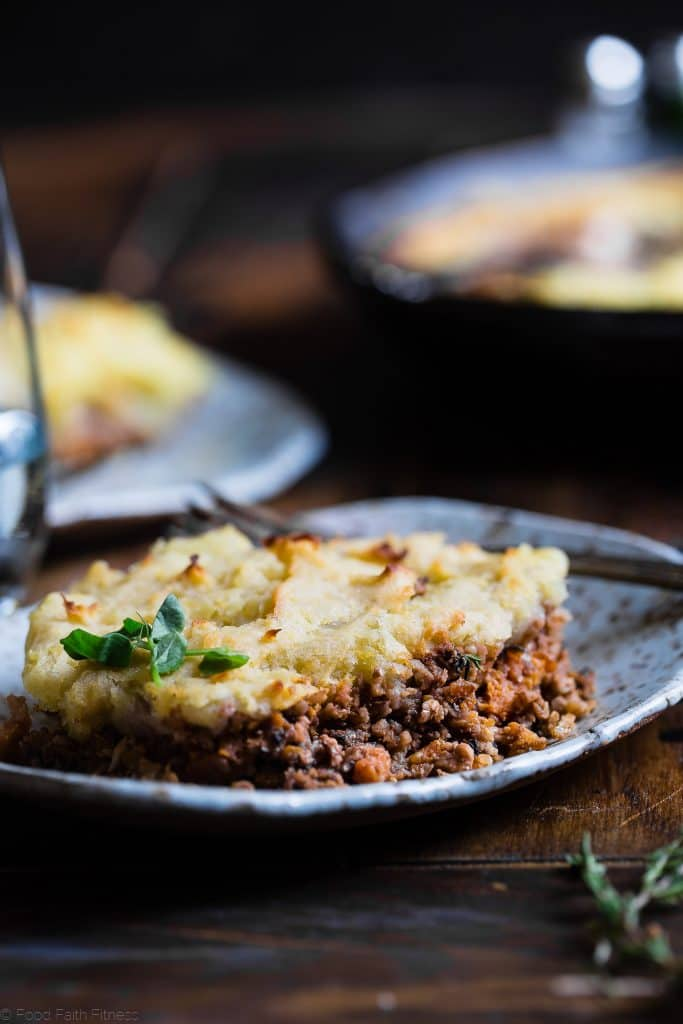 Whole30 Approved: Shepherd's Pie with Cauliflower Mash