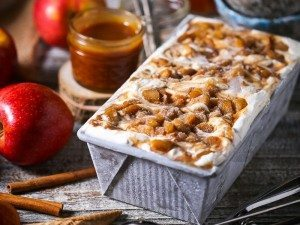 Caramel Apple No-Churn Ice Cream