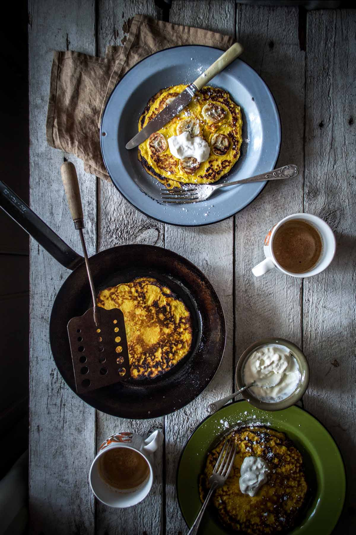 Costa Rican Corn Pancakes