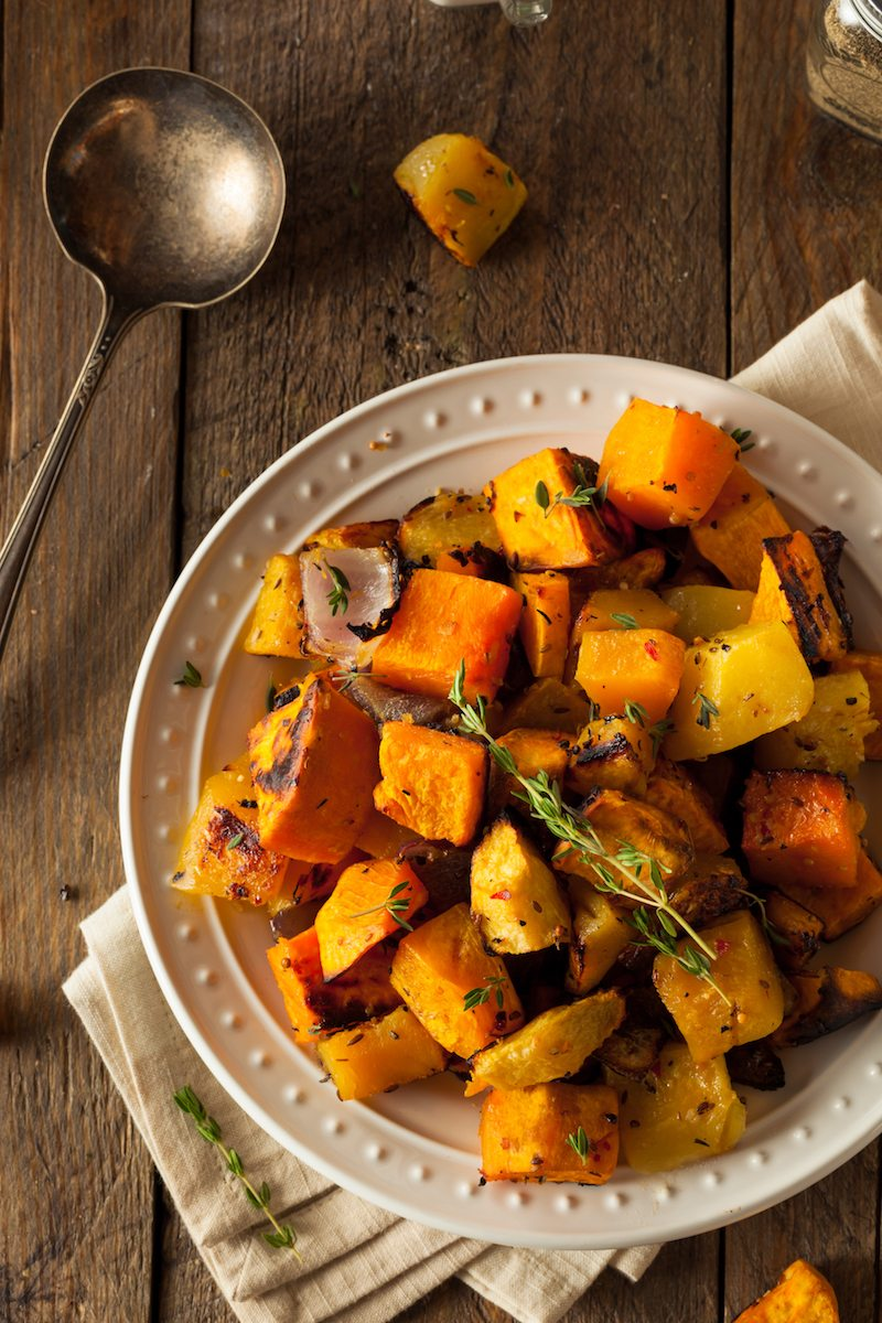 Homemade Roasted Root Vegetables