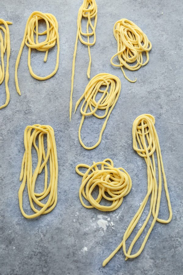 How to Make Gluten Free Pici Pasta