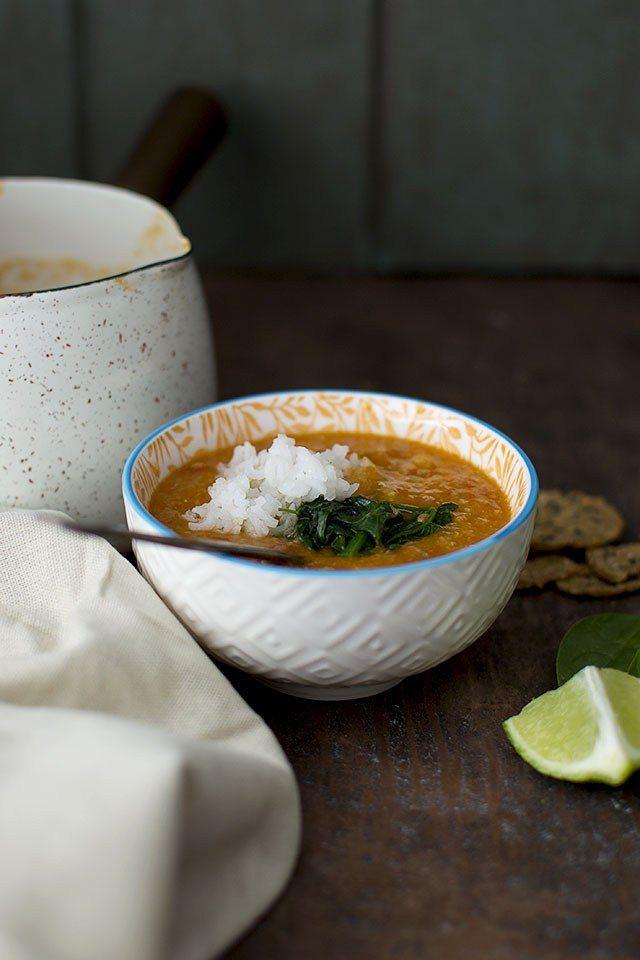 Indian Red Lentil Soup