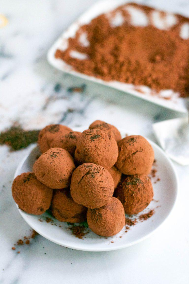 Earl Grey Chocolate Truffles