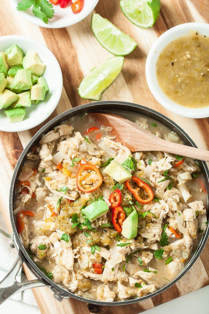 One-Pan Salsa Verde Chicken
