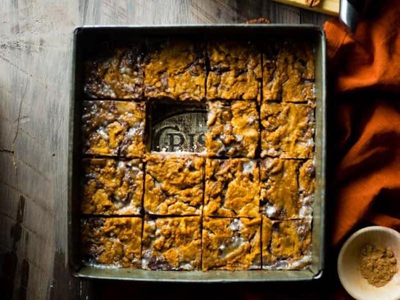 Paleo Pumpkin Magic Bars – Honest Cooking