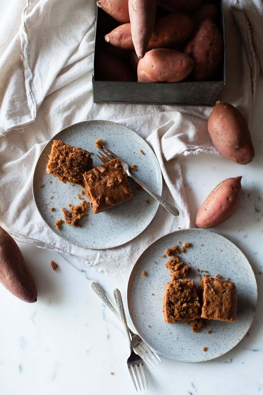 Chocolate Chip Sweet Potato Cake
