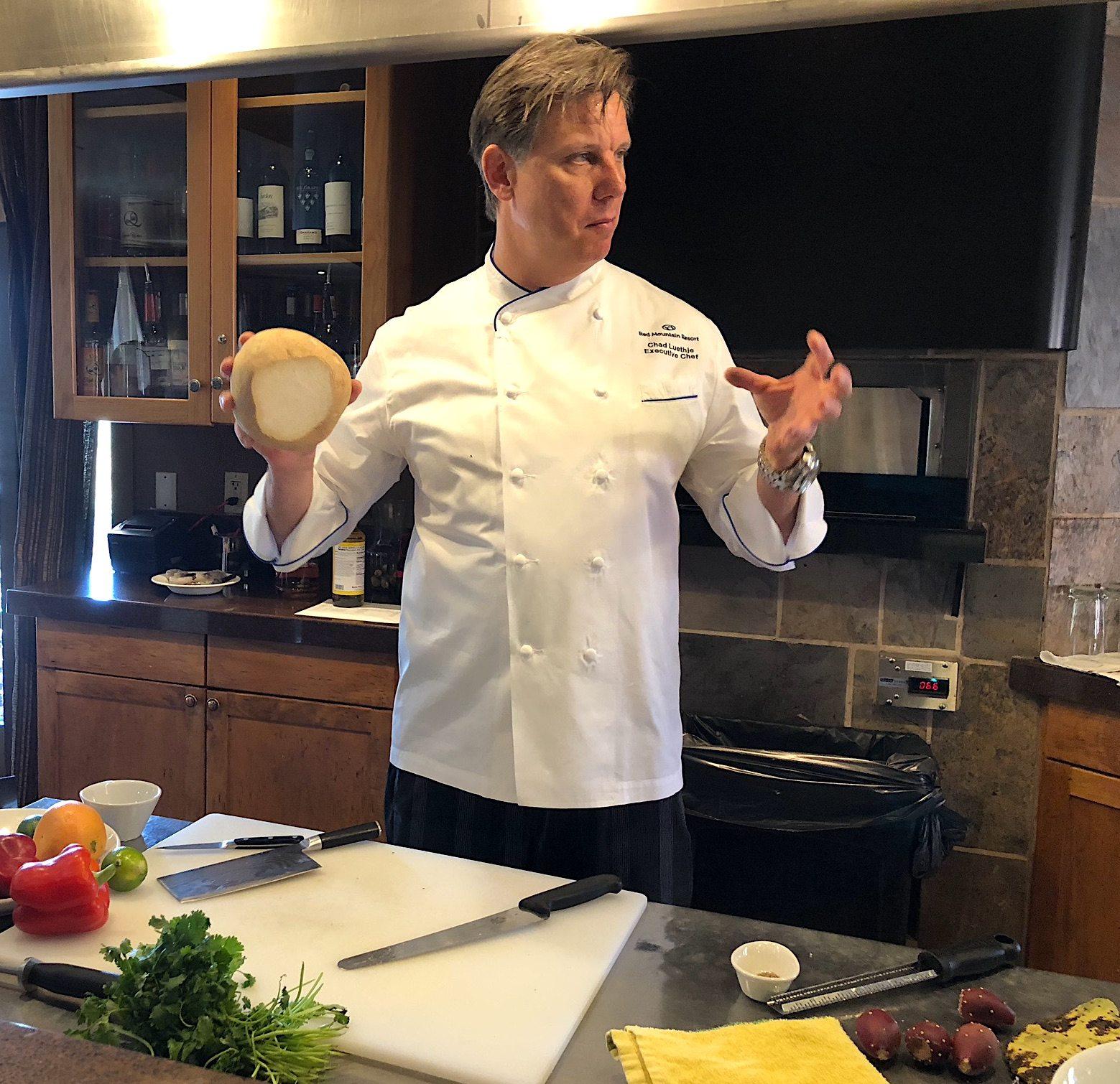 Chef Chad demo