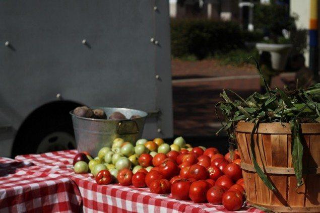 fresh produce - soda city farmer's market