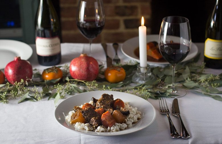 Pairing Wine and Korean Braised Short Ribs