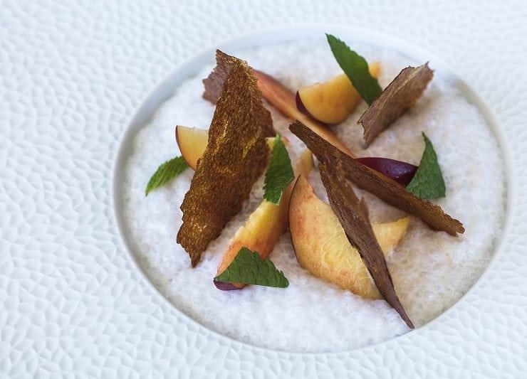 tapioca aux nectarines Loiseau des Sens @MatthieuCellard - featured image