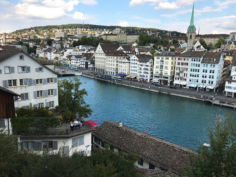 The Old Town, Zurich