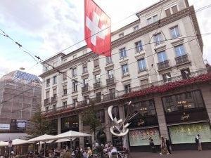 Sprungli, Zurich