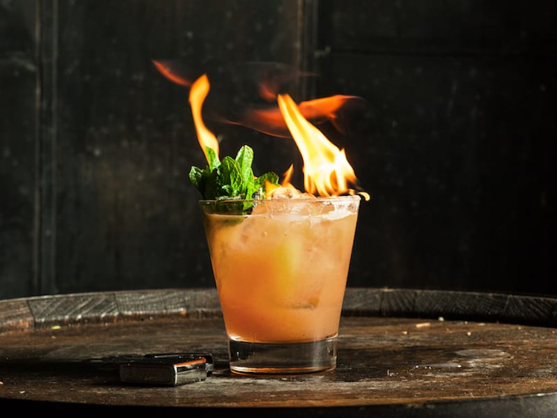 Skip the Punch Bowl: Make these Halloween Cocktails