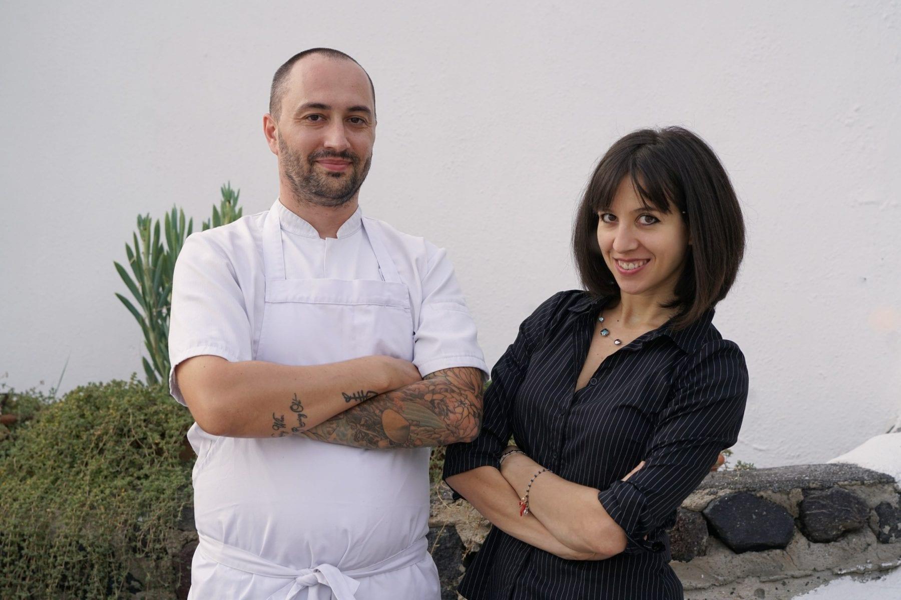 Ambra Torelli Chef Theodoros Kakoulis