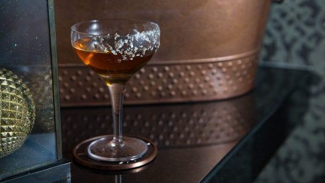 Bodega Negra's Smoky Cocktail - Smoking Scorpion Courtesy of Bodega Negra at Dream Downtown