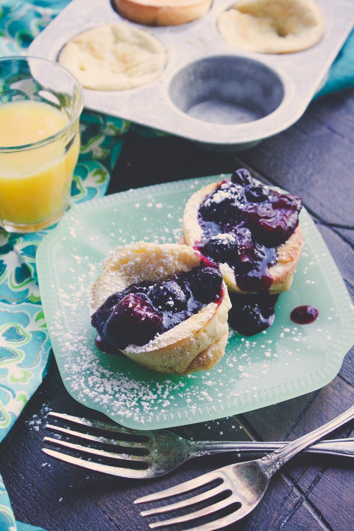Mini Dutch Baby Pancakes - Honest Cooking