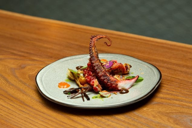 Lamia's Fish Market - Grilled Octopus