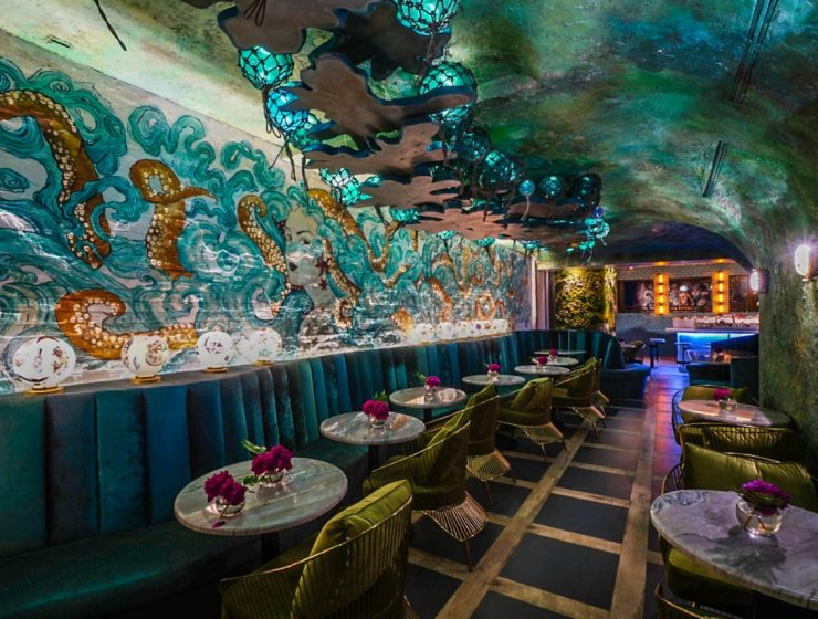 Lamia's Fish Market - Octopus Room