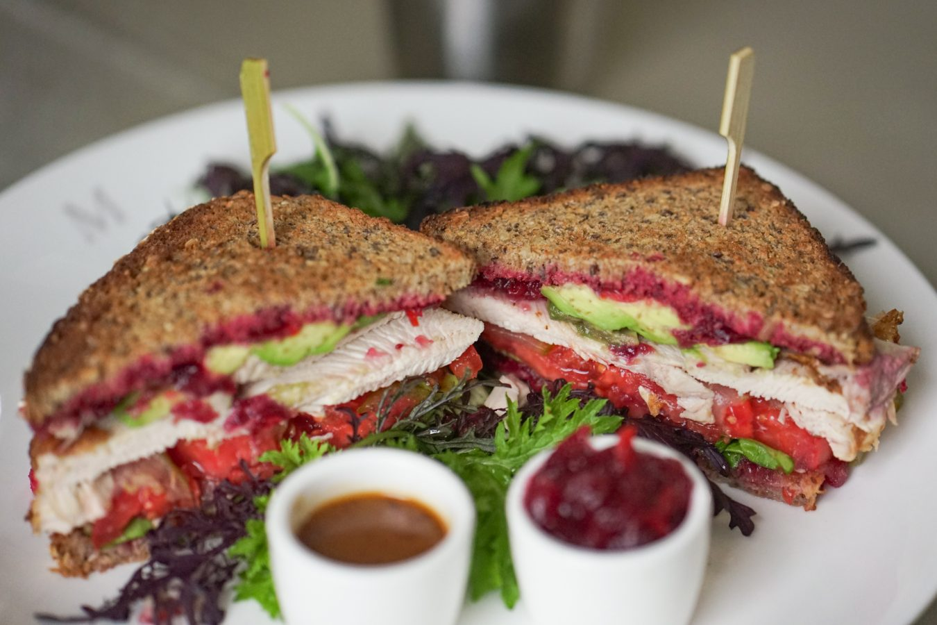 The Mark Hotel - Thanksgiving Sandwich Close Up - Angela Pham